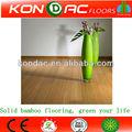 une grande durabilité et la stabilité verticale plancher en bambou carbonisé