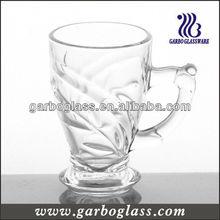Glass coffee mug,glass juice mug,glassware