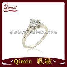 2013 nice zircon diamond rings for girl