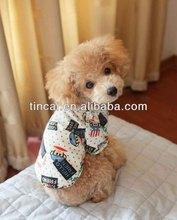 Fashion style Cotton Printed Dog T-shirt