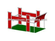 exhibition booth design , exhibition truss display