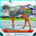 modern animal escultura de fibra de vidro escultura de cavalo