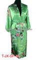 2013 atacado mulher cetim de seda kimono roupões, roupões de banho s m l xl xxl 3xl stock