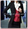 Elegante signore vestito di affari set uniforme, donne ufficio uniforme di progettazione 2013 ultimo stile, fashion donna vestito ufficio set tuta