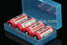 Waterproof Efest 2 X 18650 or 4 X 16340/CR123A battery case