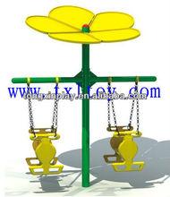 outdoor plastic luxury outdoor swings for sale TX-147B