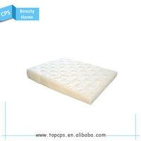 Wedge shaped foam pillow sleep