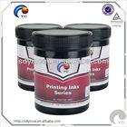Silk screen printing ink for plastic