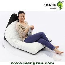 Shell bean bag lounge sofa, portable lounge chair, inflatable lounge chair
