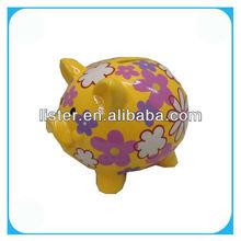 Pottery Pig Kids Money Box /Money Saving Box /Piggy Bank