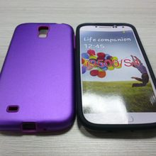 new design silicone +metal combo case for samsung galaxy s4