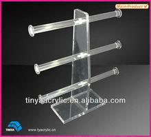 2013 New Invention Acrylic Promotional Jewelry Display Racks