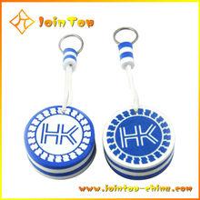 Promotion Gift Custom Circle Blue Felt Keychain