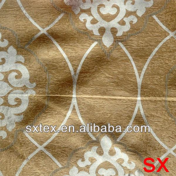 Luxury Design Big Pattern Jacquard Blackout Living room Window Curtain Dsign-812