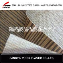 New design abrasion resistent pvc leopard print leather