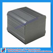 HiFi Audio DIY Aluminum Chassis Aluminum Case B preamp or power amp 95x55x95 mm / 3.74''x2.16''x3.74'' (wxhxl)