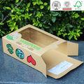 2014 novo produto bonecas caixa de embalagem caixa de presente caixa de papel com janela