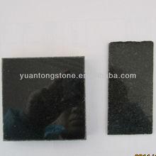 24x24 black granite tile