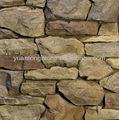 Piedras naturales para el exterior de la pared de casa