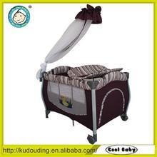 Factory price baby folding playpen/good baby playpen/luxury baby playpen