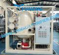 Zja utiliza el aceite del transformador purificación planta/aceite de la máquina de limpieza montado en un trailer tipo móvil