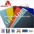 dibond de aluminio pvdf acp material primas