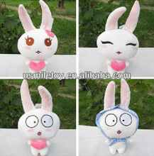 animated plush stuffed small rabbit for sale