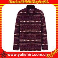 Custom newest comfort stand collar casual print warm heavy winter coats for men 2013