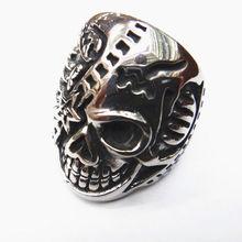 SRM009 2012 hot fashion skull jewellery rings,skull rings