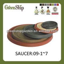 Round Plastic Flower Pot Trays/10 years lifetime