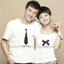 Custom love couple t-shirt design