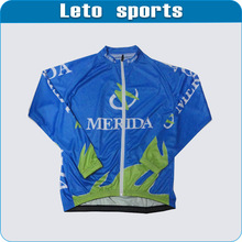 lastest long sleeve cycling jersey cycling jacket winter team