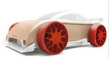 wooden sports car /mini car model/Deformation of wood car