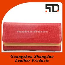 Manufacture Wholesale Price Handmade Women Leather Purse