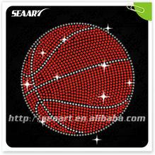 basketball for rhinestone transfers templates