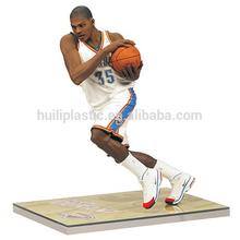 Custom plastic basketball figures/plastic basketball player figure/basketball stars figure