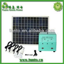 Mobile home use solar power kit for indoor lighting S105