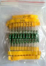 Color code inductance Kits, 10pcs of 24kinds