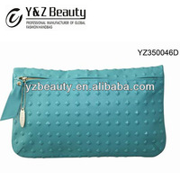 Usefull Functional Wallet for iPad Samsung iPhone Studded Clutch Lady Purse