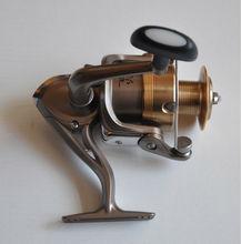 Golden spinning fishing reel