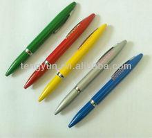 Colorful twist metal ball pen 031032