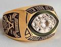 personnalisé super bowl 1968 jets de new york bijoux bague avec zircon