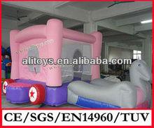 2014 Christmas Gift for kids inflatable bounce castle,mini bounce inflatable for kids play