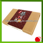 Custom corrugated biscuit box with sleeve