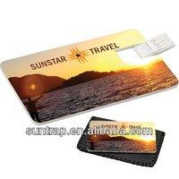 free logo printing name card credit card bulk 2gb usb flash drive