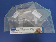 Double Zipper Freezer Bag 2 Gallon double track zipper bag