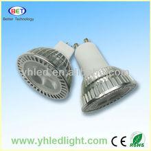 CE&RoHS Energing Saving gu10 led light spot 110V 220V false ceiling light