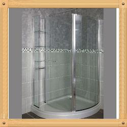 6mm glass hangzhou shower enclosure indoor portable shower