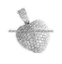Collier pendentif charmes pendentifs vners personnalisée. birthstone bague vners pendant de mode