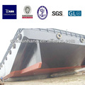 Bv/gl/certificado de ccs de goma inflable barco pontón flotante